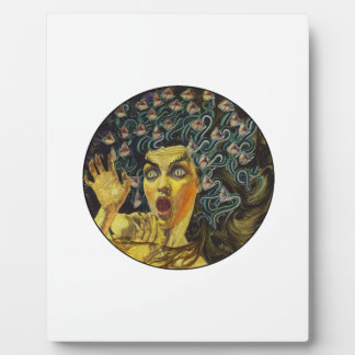 MEDUSA SHOWS LOVE PLAQUE
