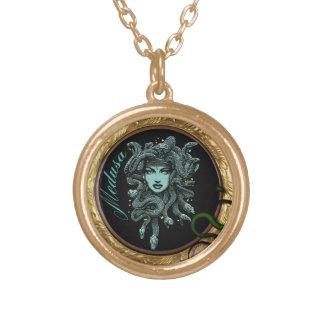 medusa snake necklace
