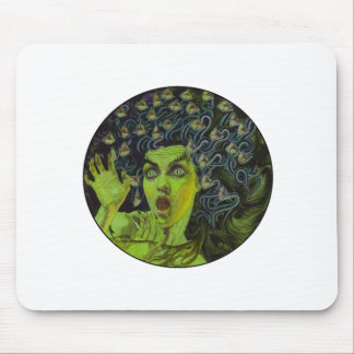 MEDUSA THE WARRIOR MOUSE PAD