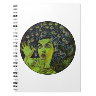 MEDUSA THE WARRIOR NOTEBOOK