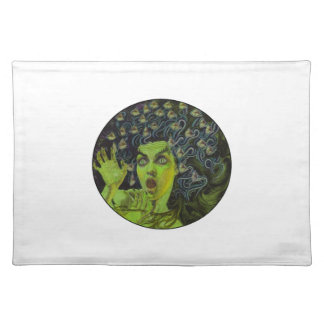 MEDUSA THE WARRIOR PLACEMAT