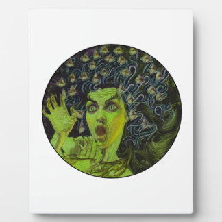 MEDUSA THE WARRIOR PLAQUE