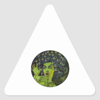 MEDUSA THE WARRIOR TRIANGLE STICKER