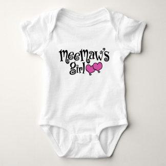 MeeMaw's Girl Baby Bodysuit