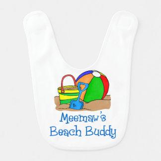 Meemaw's Beach Buddy Bib