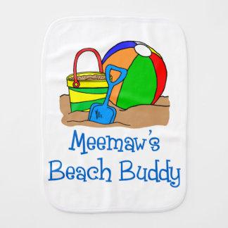 Meemaw's Beach Buddy Burp Cloth