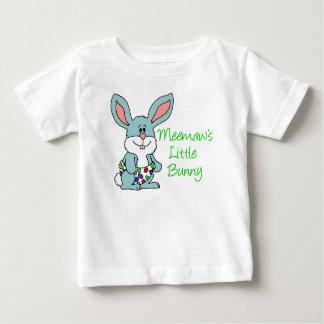 Meemaw's Little Bunny Baby T-Shirt