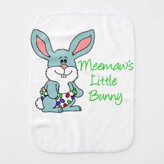 Meemaw's Little Bunny Burp Cloth