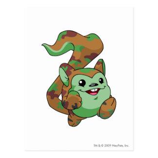 Meerca Camouflage Postcard