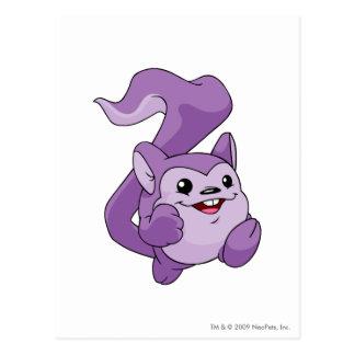 Meerca Purple Postcard