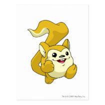 Meerca Yellow postcards