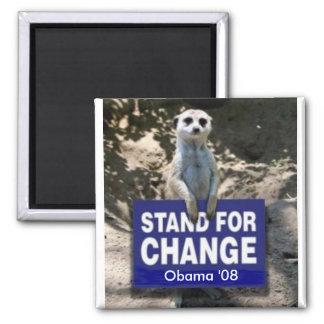 Meerkat 4 Obama Magnet