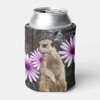 Meerkat_And_Daisies,_Can_Stubby_Cooler_Holder.