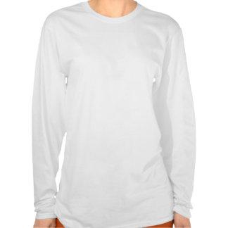 Meerkat_And_Daisies_White_Long_Sleeve_T-shirt. Shirt