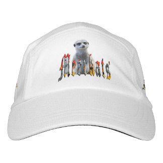 Meerkat And Meerkat Logo Performance Cap. Hat