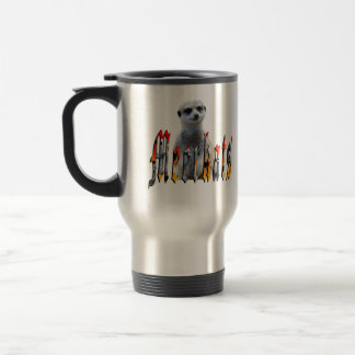 Meerkat And Meerkat Logo, Travel  Mug