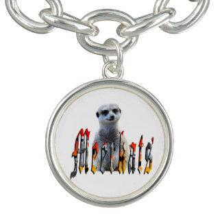 Meerkat And Meerkats Logo, Charm Bracelet