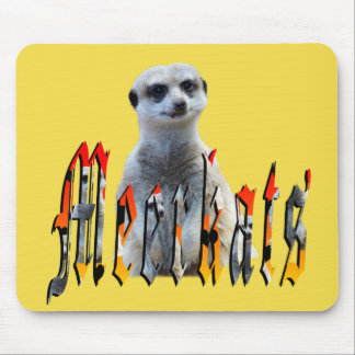 Meerkat And Meerkats Picture Logo, Mouse Pad