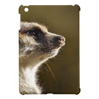 Meerkat Animal Nature Zoo Tiergarten Small Fur Cover For The iPad Mini