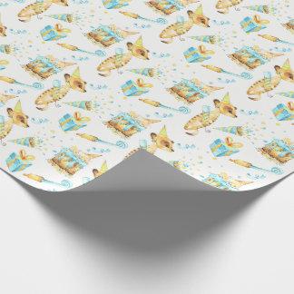 Meerkat Birthday Gift Wrap