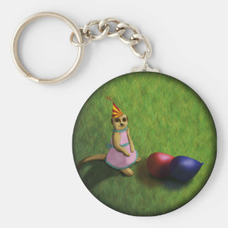 Meerkat Birthday, keychain