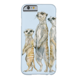 Meerkat Family Barely There iPhone 6 Case