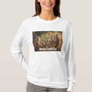 Meerkat Family Day T-shirt