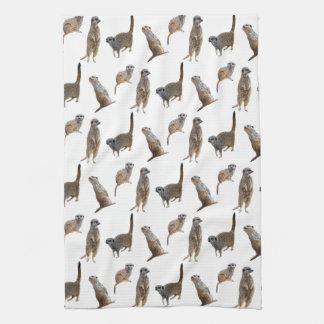Meerkat Frenzy Kitchen Towel