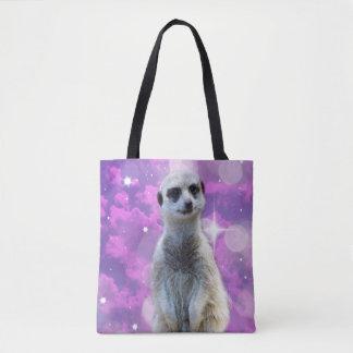 Meerkat Glitter Ball,_Full_Print_Tote_Bag Tote Bag