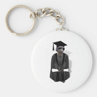 Meerkat Graduate Key Ring