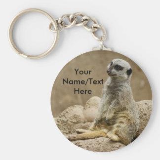 Meerkat keychain