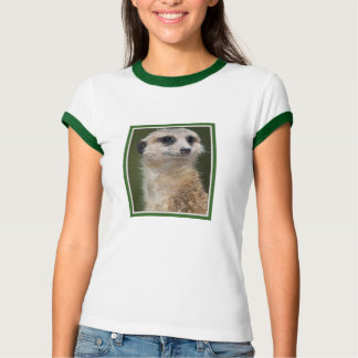 Meerkat on the look out tee shirt