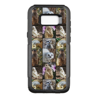 Meerkat Photo Collage, Samsung Galaxy S8+ Case.