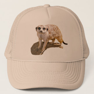 Meerkat Picture Trucker Hat