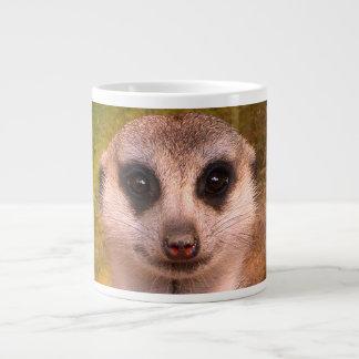 Meerkat portait 002.02 large coffee mug