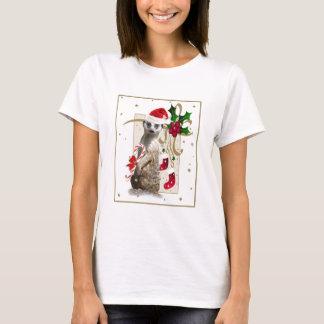 Meerkat Santa Mousepad T-Shirt