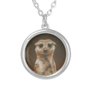 Meerkat Silver Necklace