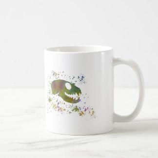 Meerkat Skull Coffee Mug