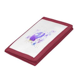 Meerkat Skull Tri-fold Wallet