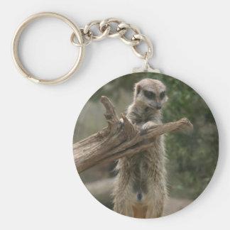 Meerkat Standing Keychain