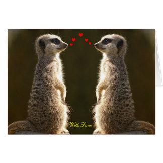 Meerkat Valentine Card 002