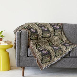 Meerkat,_Vintage_Photo_Strip,_Throw_Blanket