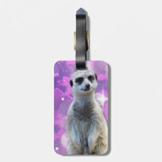 Meerkat With Sparkle, Luggage Tag