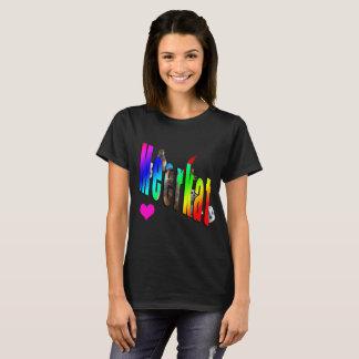 Meerkats Love Logo, T-Shirt