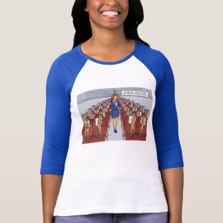 Meerkats on a Plane T Shirt