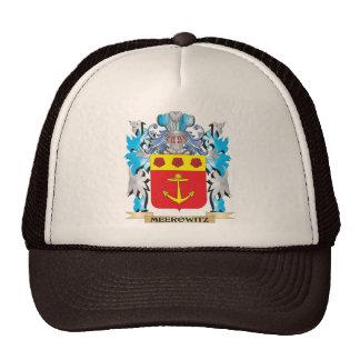 Meerowitz Coat of Arms - Family Crest Mesh Hats