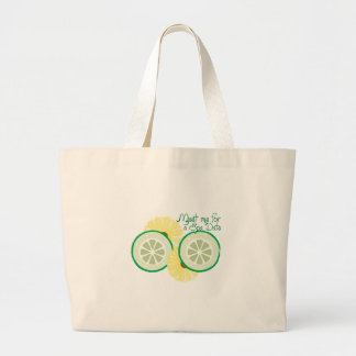 Meet for a Spa Date Tote Bags