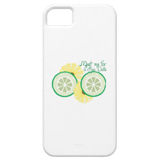 Meet for a Spa Date iPhone 5 Case