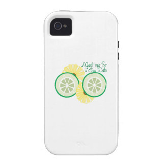 Meet for a Spa Date iPhone 4/4S Cover