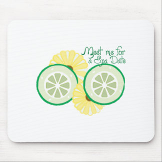 Meet for a Spa Date Mouse Pad
